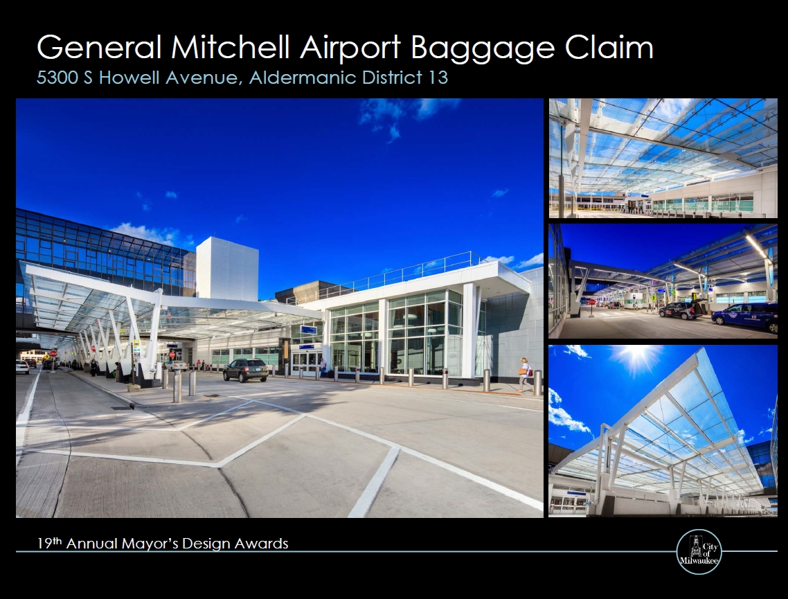 General Mitchell Airport Baggage Claim Building