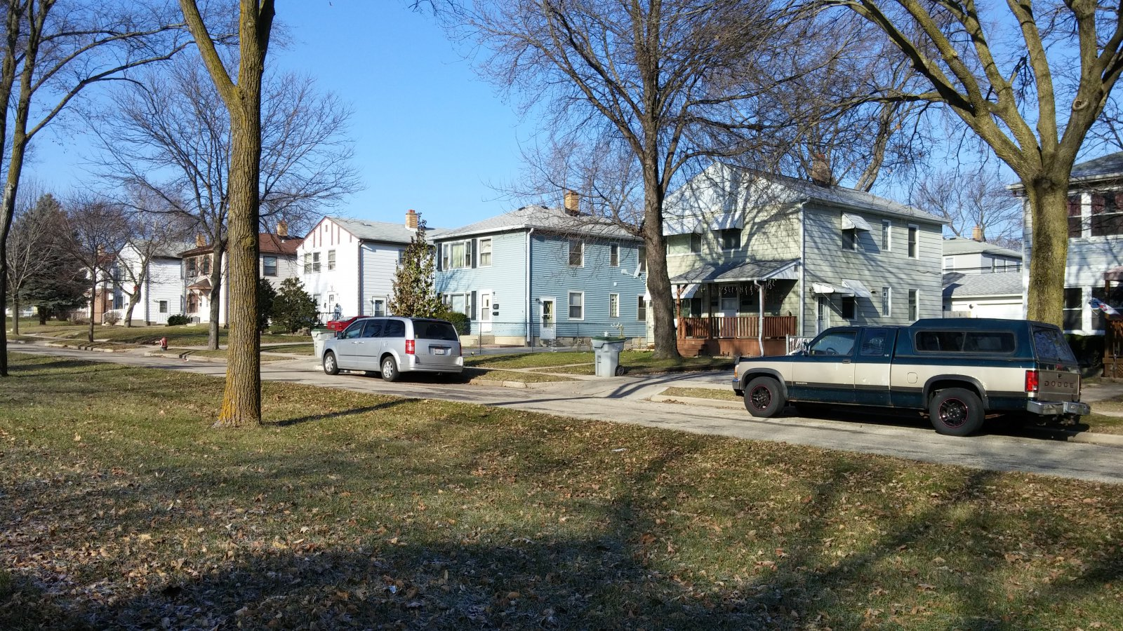 Duplexes on W. Howard Avenue