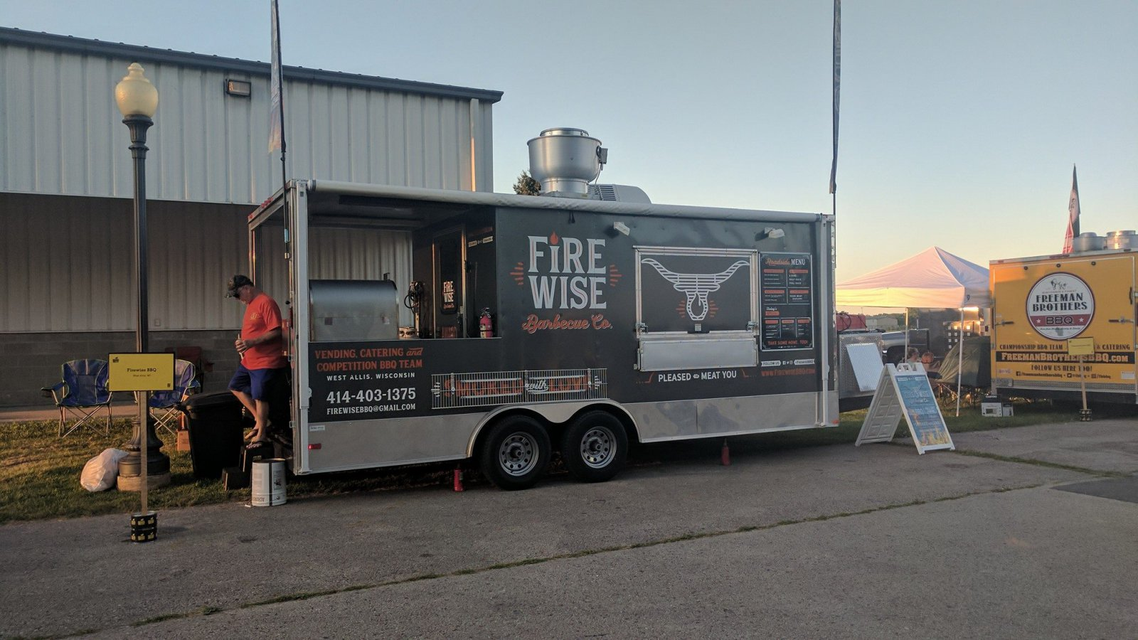 Firewise Barbecue