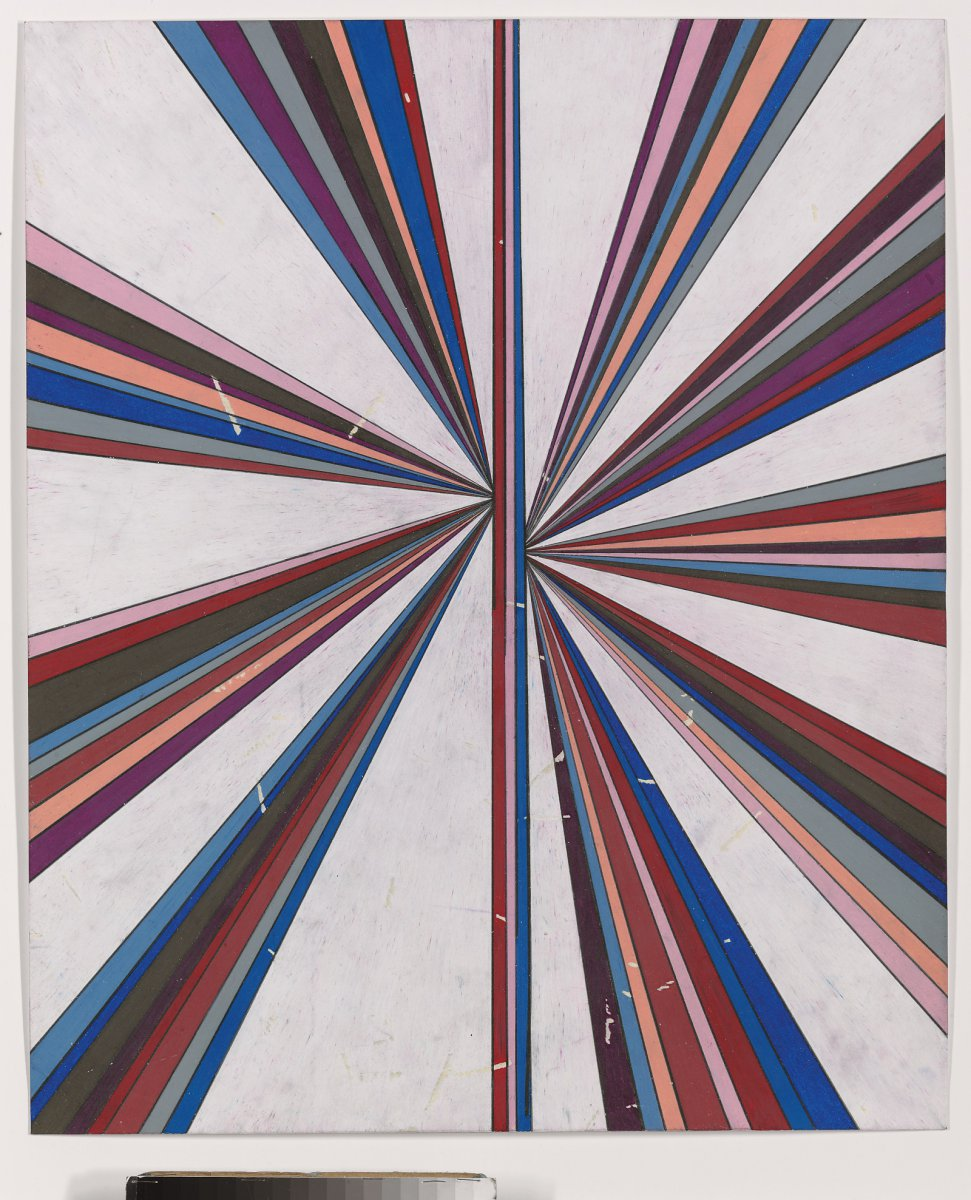 Untitled (Eleven Color Variant Separated with White Butterfly 43.04)