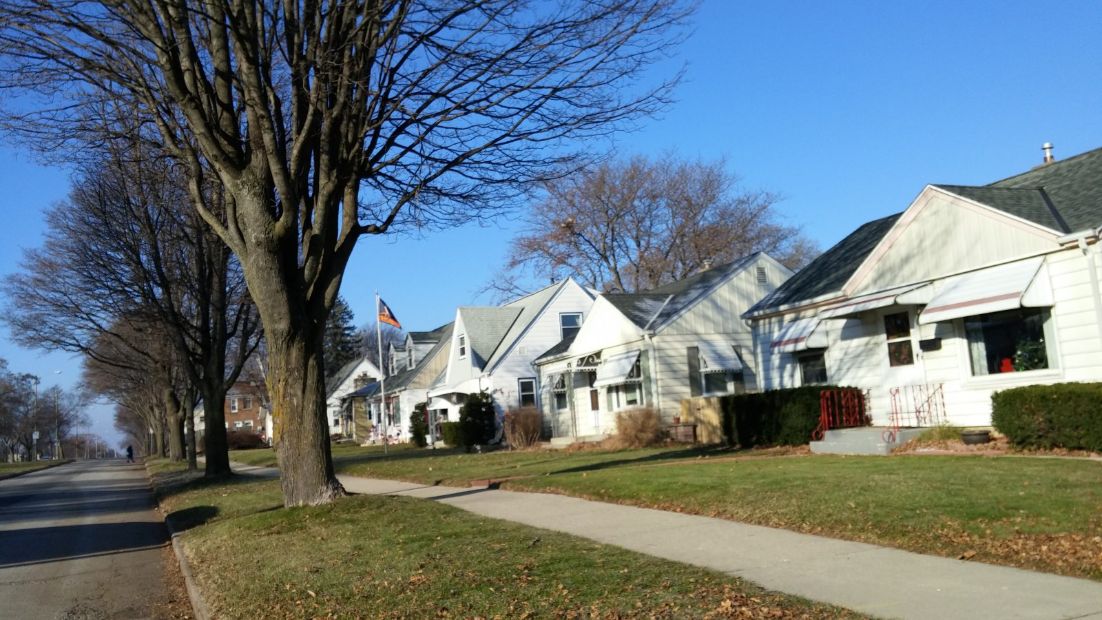 Homes on E. Howard Avenue
