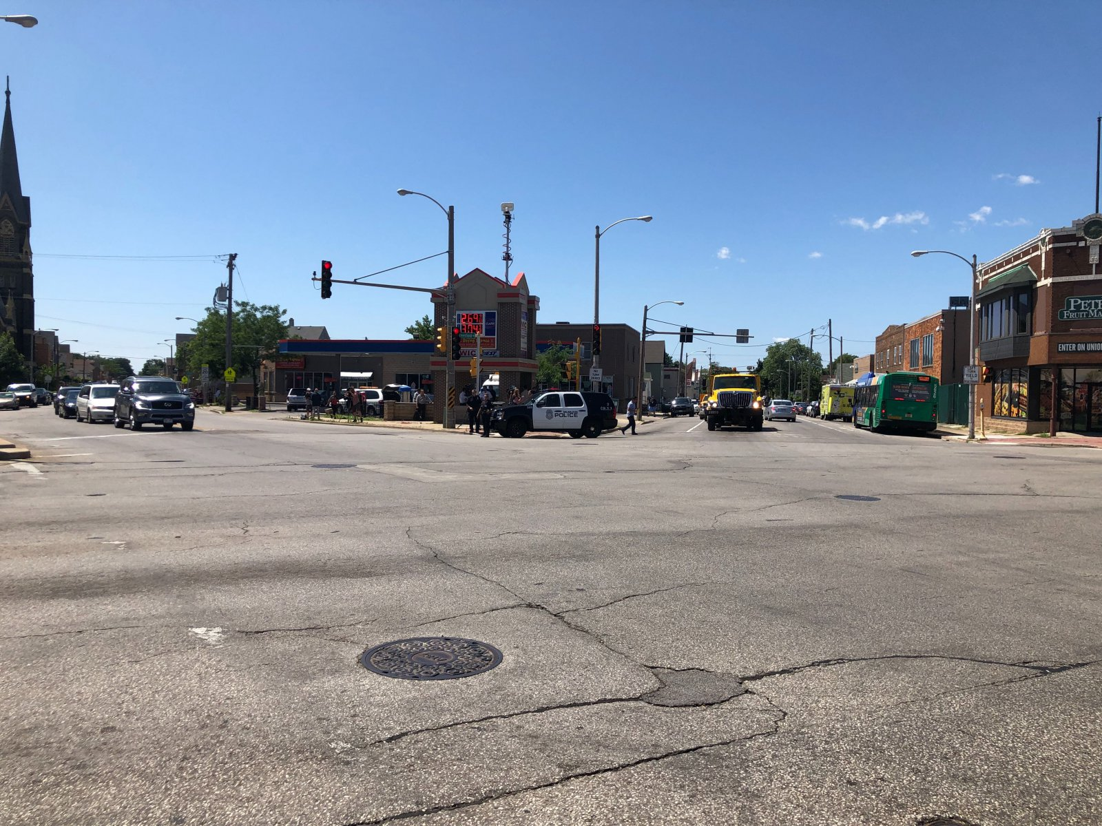 S. Cesar Chavez Dr., W. Greenfield Ave. and S. Muskego Ave.
