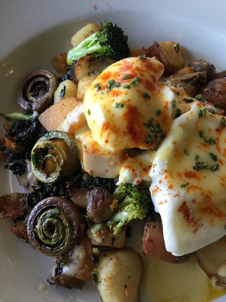 Breakfast Special Bowl with Fiddleheads