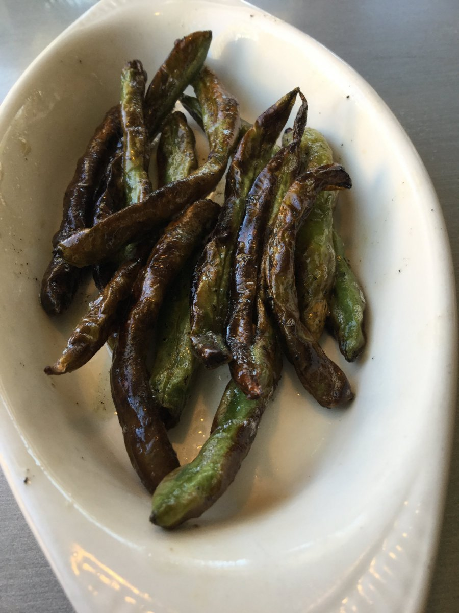 Vegetable of the Day - Blistered Green Beans