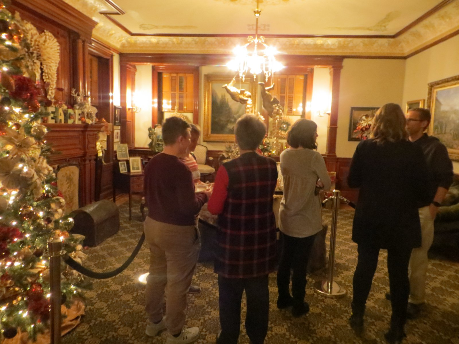 Inside the Pabst Mansion