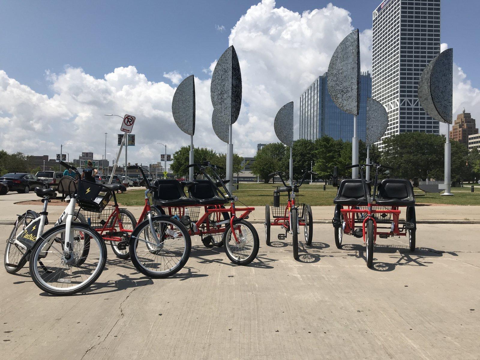 New adaptive bikes