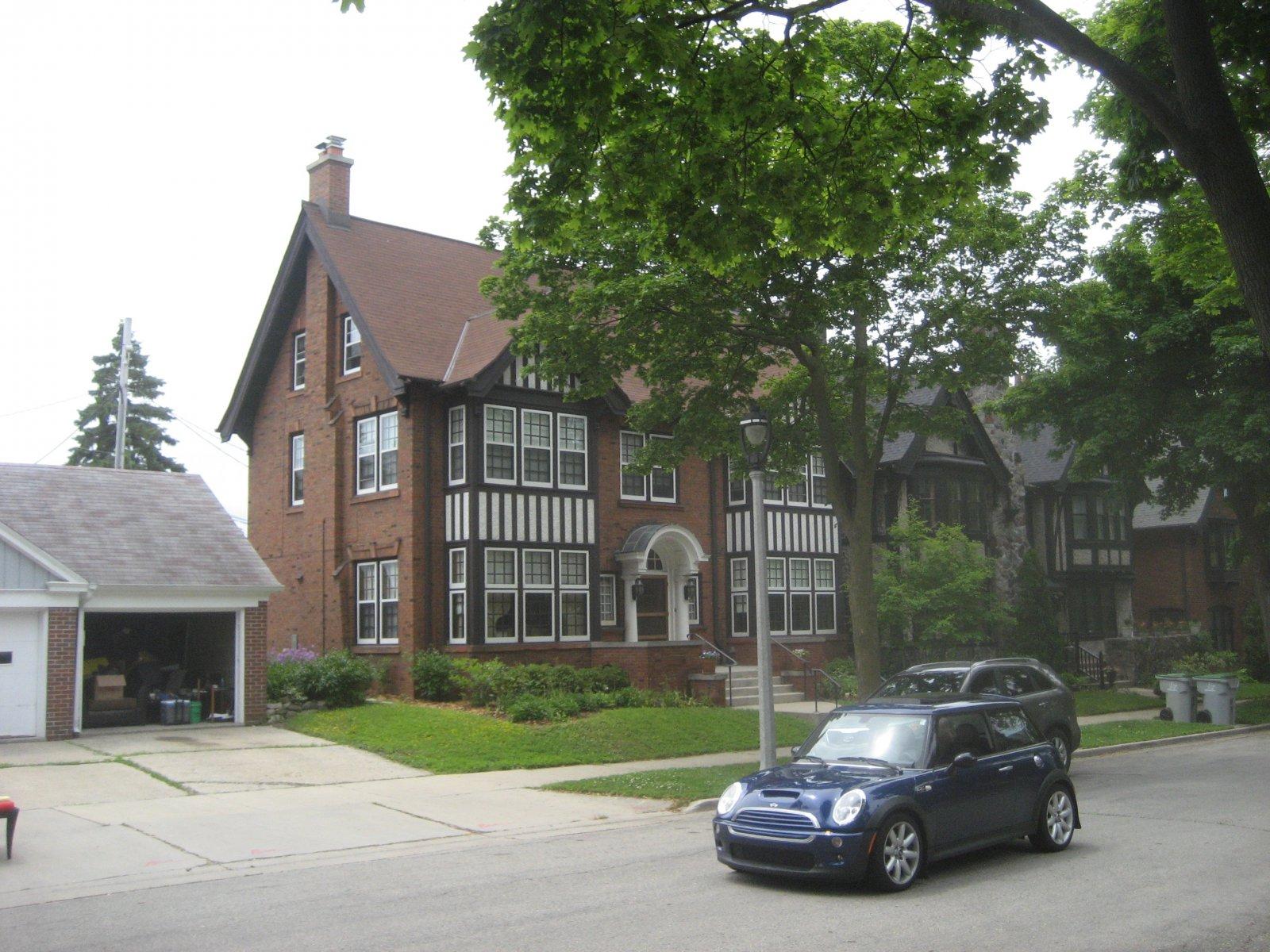 Atty Mark Thomsen\'s Tudor Mansion