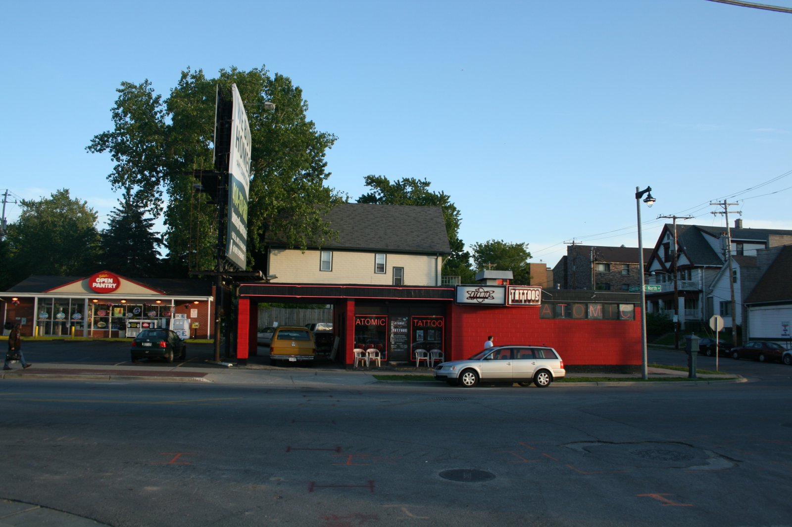 Open Pantry, 1515 E. North Ave. and Atomic Tattoos, 1507 E. North Ave.