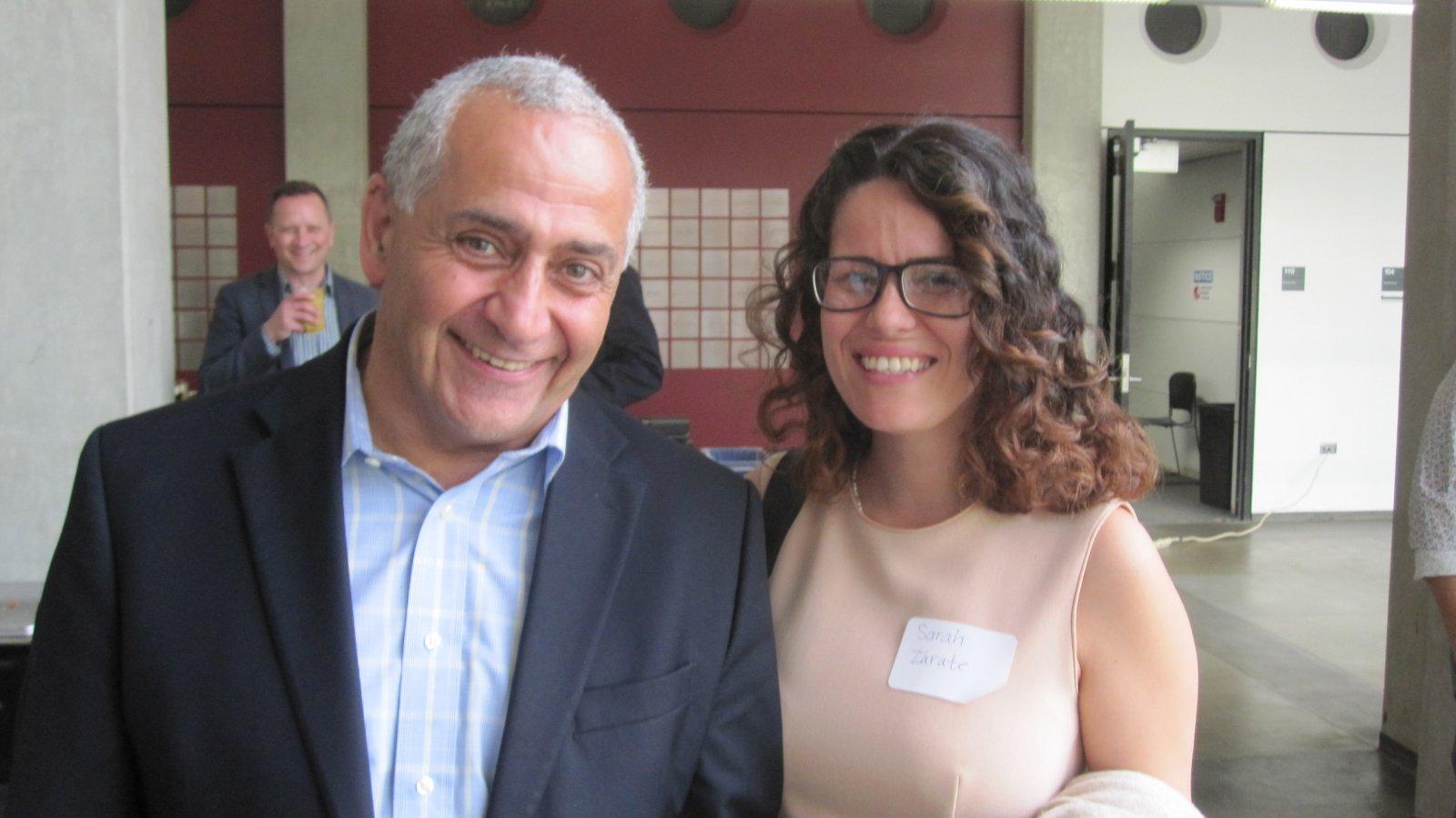 Ghassan Korban and Sarah Zarate