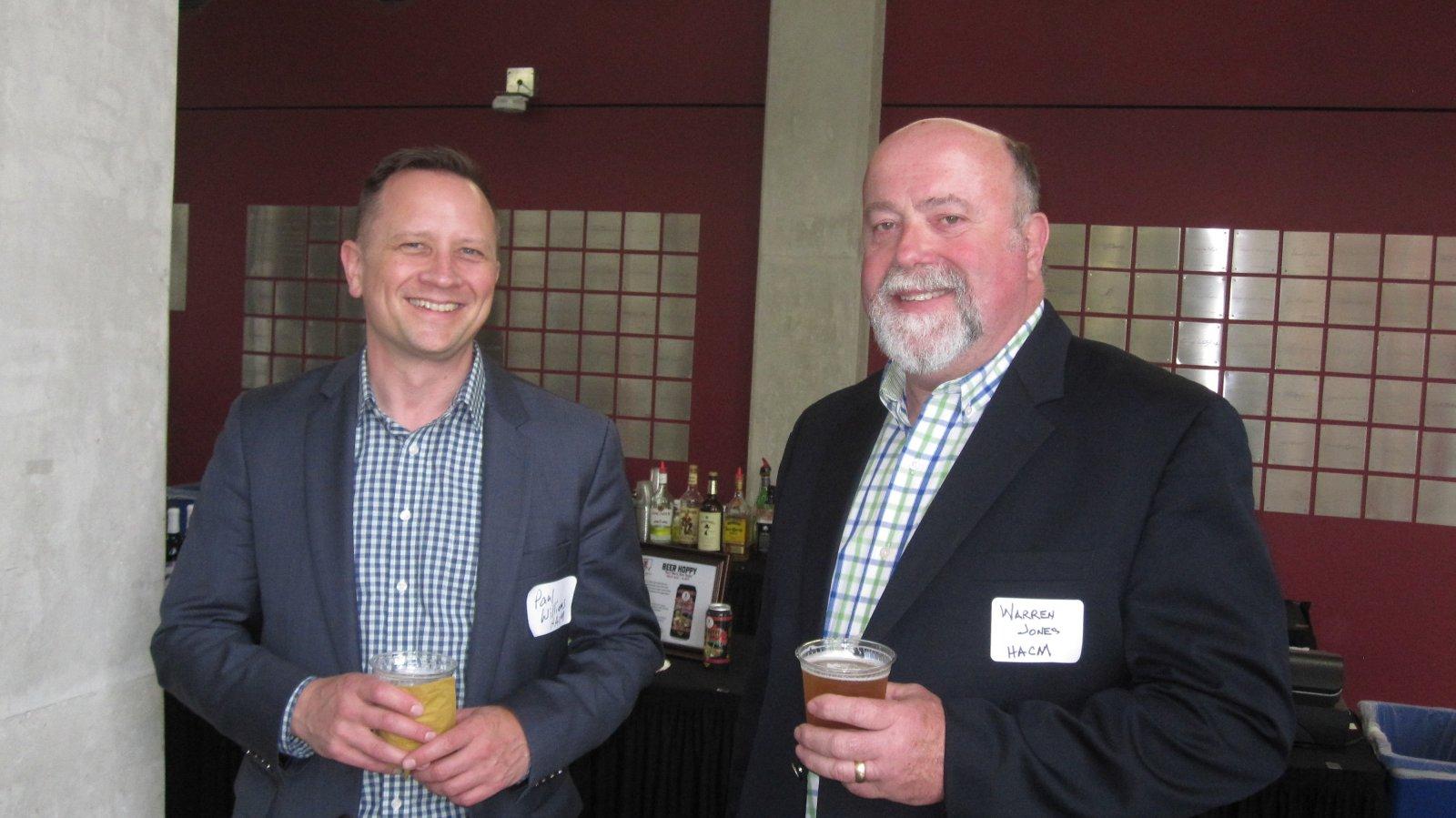 Paul Williams and Warren Jones
