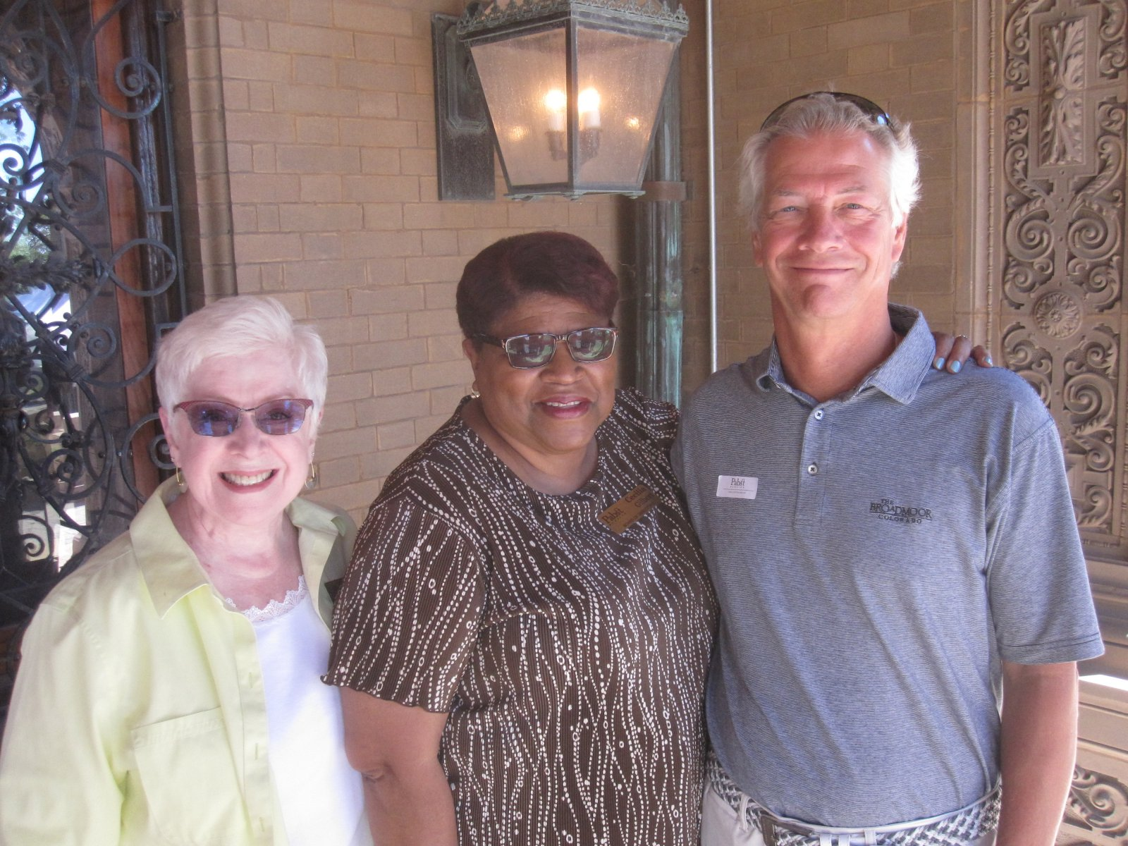 June Moberly, Cecilia Gilbert and James Pabst