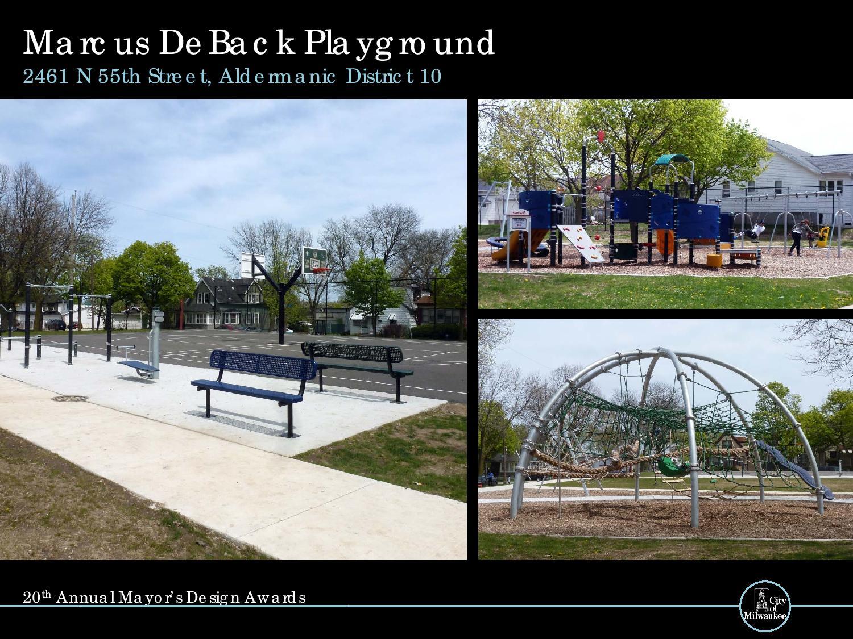Marcus DeBack PlayGround, 2461 N. 55th St.