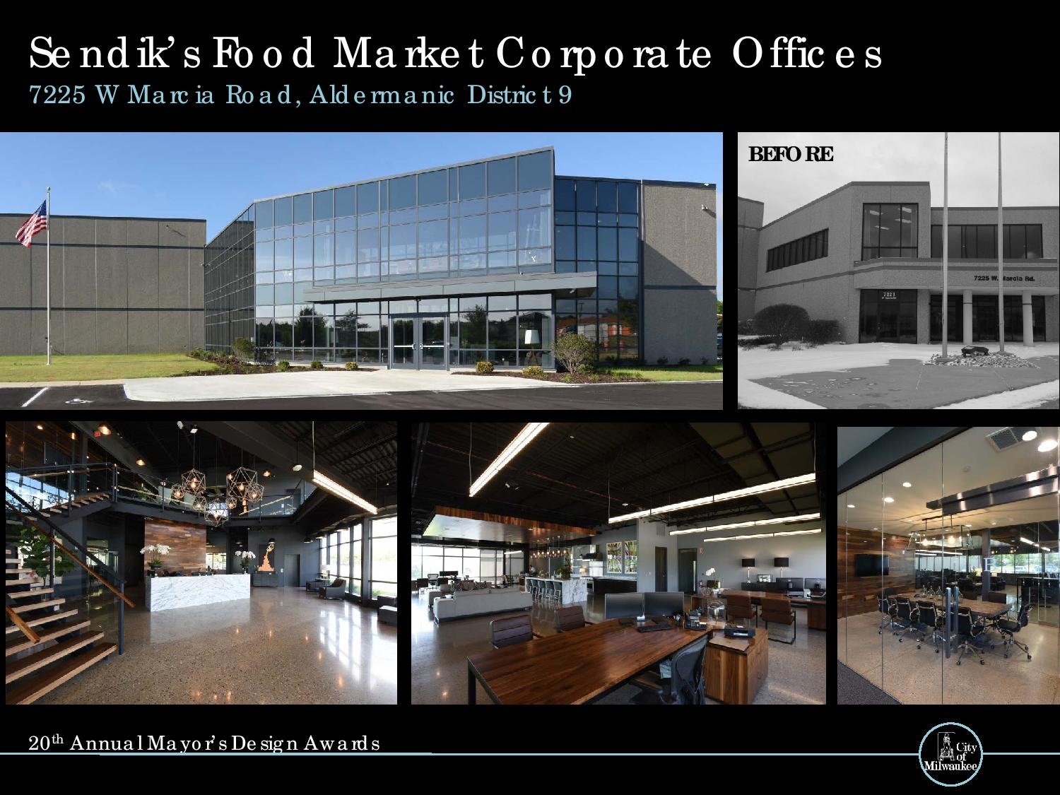 Sendik\'s Food Market Corporate Offices, 7225 W. Marcia Rd.