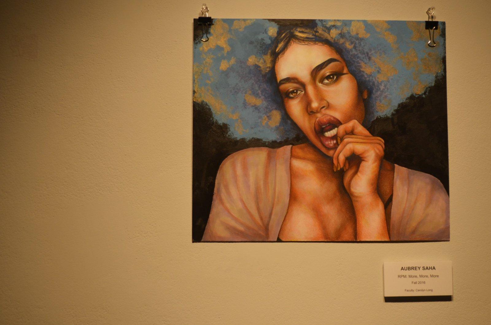 Artwork by Aubrey Saha at MIAD