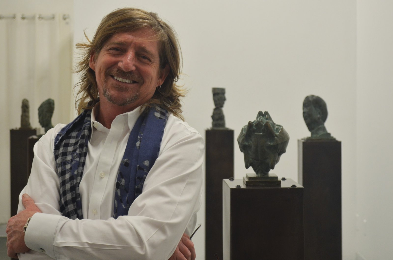 Rob Neilson and his Purgatory Misplaced series in the Frank Juarez Gallery