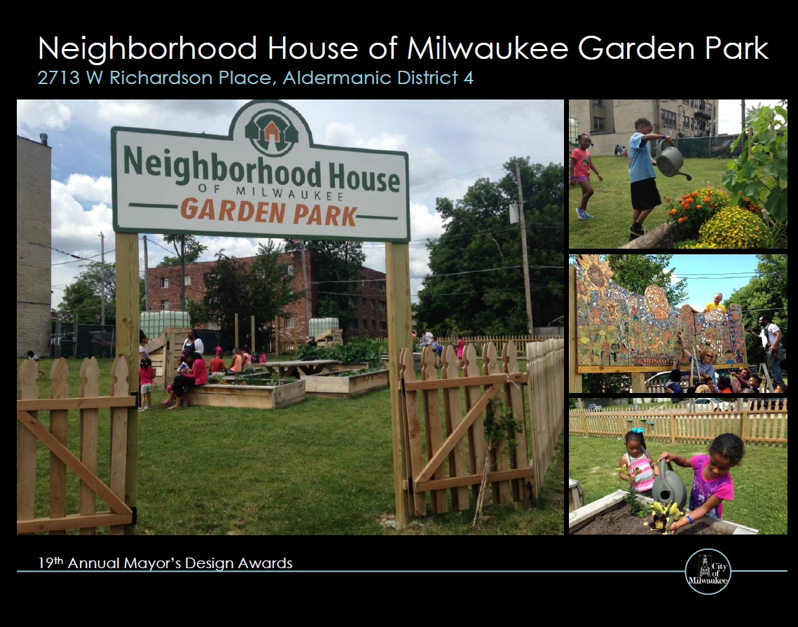 Neighborhood House of Milwaukee Garden Park