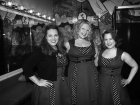 The Whiskeybelles, Chrissy Dzioba, Kimberly Unger and Sara Moilanen
