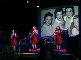 The Whiskeybelles, honoring The Chordettes 2019 Hall of Fame WAMI Inductees