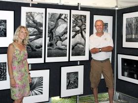 Carmen Rivers and Photographer Bill Lemke from Waukesha, WI