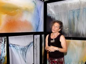 French-born American Painter, Annette Poitau