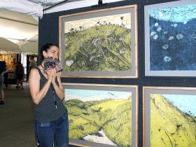 Artist Helen Gotlib from Ann Arbor, Michigan