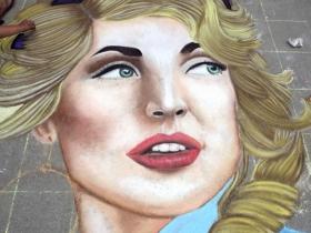 Chalk creation by Kaylee Goodman