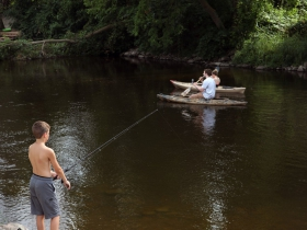 Summer fun river activities just steps away from The Museum of Wisconsin Art (MOWA)