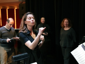 Pianist - Conductor, Janna Ernst.