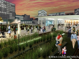 Conceptual design for the Milwaukee Public Museum roof