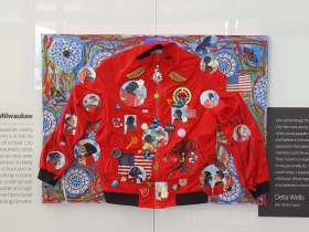 Red Jacket Fusion by Della Wells