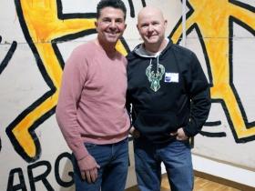 Claudio Cifaldi and Bob Dommek, Milwaukee.