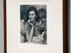 Dorothea Lange, Migrant Mother Nipomo, CA, 1936/2003.