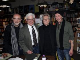 Dave Luhrssen, Phillip Naylor, Larry Lynne and Bruce Cole