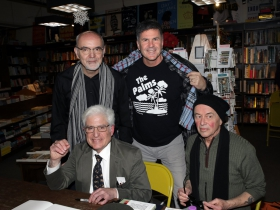 Dave Luhrssen, Brad Smith, Phillip Naylor and Bruce Cole