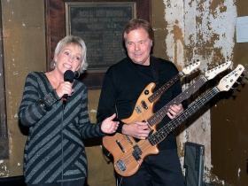Jack and Jill (Jill Jensen and Jack Grassel) performing at The 35th annual WAMI Awards, held at Turner Hall Ballroom, Milwaukee, WI., pg.172