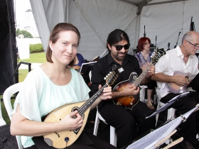 Members of the  Milwaukee Mandolin Orchestra