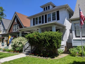 Actor Spencer Tracy's boyhood home on S. Logan Avenue