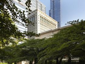 Art Institute of Chicago, South Garden, Chicago, IL, 2013.