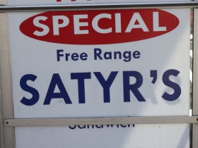 Best deal on Satyr sandwiches in town