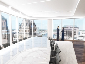 BMO Tower Interior Rendering