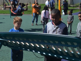 Custer Playfield reopening