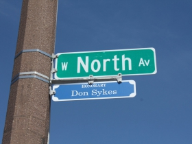 Don Sykes Honorary, N. 27th Street and W. North Avenue