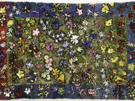 Untitled, Floral rug. ND