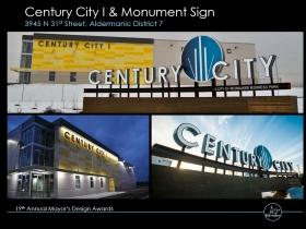 Century City I & Monument Sign
