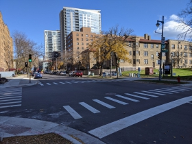 E. Brady Street and N. Prospect Avenue