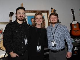 Singer/songwriter Matt Wynn, Cindy Owen, Given Entertainment and Tour Manager, Bailey Downs.