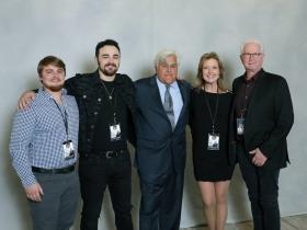 Given Entertainment Nashville, Bailey Downs, Matt Wynn, Cindy Owen, Cliff Downs with Jay Leno.