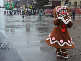 Gingerbread girl