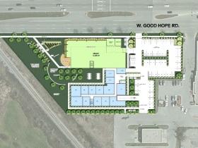 7717 W. Good Hope Rd. Site Plan V1