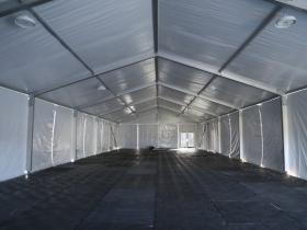 Sixteenth Street Community Health Centers COVID-19 tent